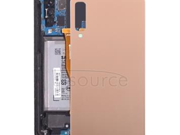 Original Battery Back Cover for Galaxy A7 (2018), A750F/DS, SM-A750G, SM-A750FN/DS(Gold)