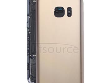 Original Battery Back Cover for Galaxy S7 / G930(Golden)