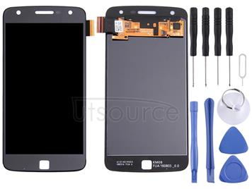 Original LCD Screen + Original Touch Panel for Motorola Moto Z Play(Black)