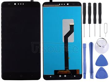 For ZTE ZMax Pro / Z981 LCD Screen and Digitizer Full Assembly(Black)