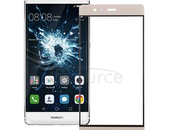 For Huawei P9 Front Screen Outer Glass Lens(Gold)