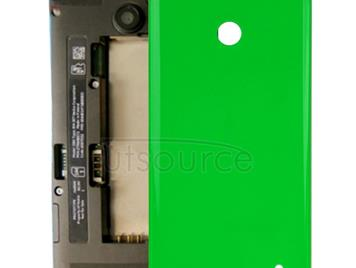 Housing Battery Back Cover + Side Button for Nokia Lumia 635 (Green)