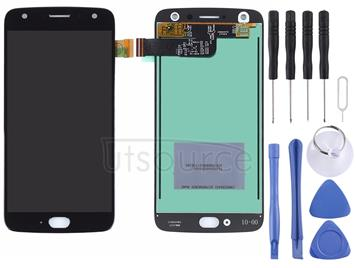 for Motorola Moto X4 LCD Screen and Digitizer Full Assembly(Black)