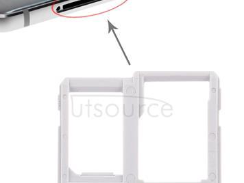 SIM Card Tray + Micro SD Card Tray for LG Q6 / M700 / M700N / G6 Mini (Silver)