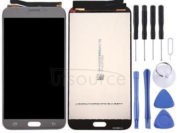 Original LCD Screen + Original Touch Panel for Galaxy J7 V / J7 Perx, J727V, J727P(Grey)