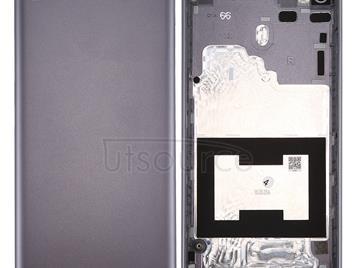 For Lenovo S90 Aluminum Alloy Battery Back Cover(Grey)