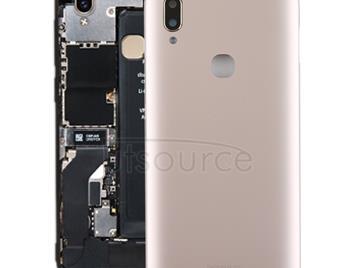 Back Cover with Camera Lens Side Keys for Vivo Y85(Gold)