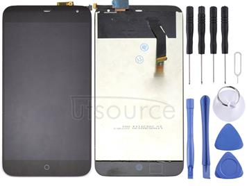 LCD Screen and Digitizer Full Assembly for Meizu MX3(Black)