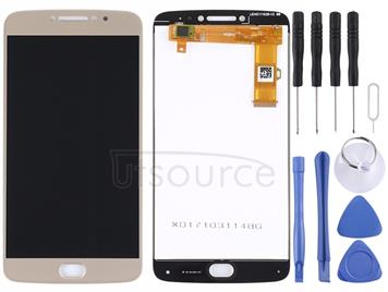 LCD Screen and Digitizer Full Assembly for Motorola Moto E4 Plus(Gold)