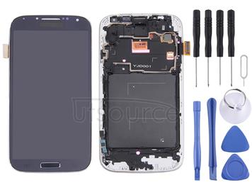 LCD Display (TFT) + Touch Panel with Frame for Galaxy S IV / i9500 / i9505(Black)
