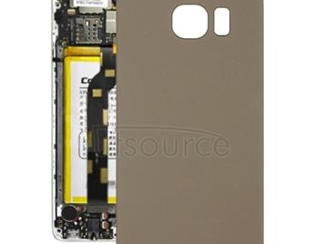 Original  Battery Back Cover for Galaxy S6(Gold)