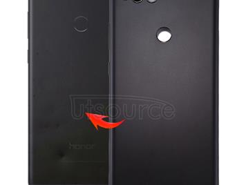Back Cover for Huawei Honor Play 7X (Black)