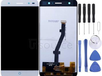 For ZTE Blade V7 Lite LCD Screen and Digitizer Full Assembly(White)
