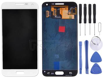 LCD Display + Touch Panel for Galaxy E7(White)