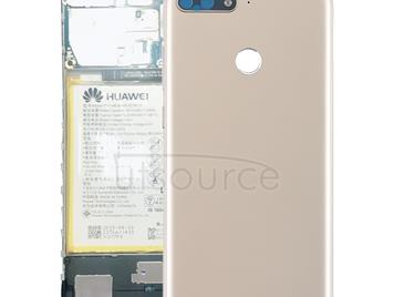 Back Cover with Side Keys for Huawei Y6 (2018)(Gold)