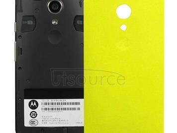 Battery Back Cover for Motorola Moto G (2nd Gen) XT1063 / XT1068 / XT1069(Yellow)