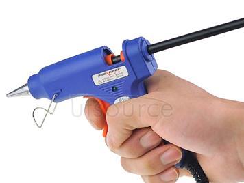 20W High Temperature Hot Melt Glue Gun, AC 100V-240V (S-E), Cable Length: approx. 1.4m(Blue)