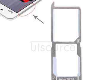 SIM Card Tray + SIM Card Tray / Micro SD Card Tray for Vivo Y37(Gold)