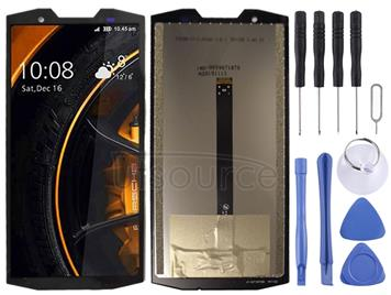 LCD Screen and Digitizer Full Assembly for Doogee S80(Black)