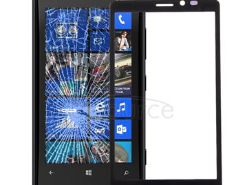 Front Screen Outer Glass Lens for Nokia Lumia 920(Black)