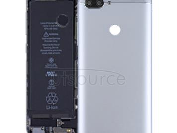 Back Cover with Camera Lens & Side Keys for Asus Zenfone Max Plus (M1) / ZB570TL(Grey)