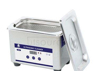 Digital Electric Ultrasonic Cleaner Machine for /Jewelry  / Metal Parts / Stones/Glasses / PCB Tools,Capacity 800ml