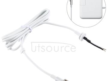 45W 60W 85W Power Adapter Charger L Tip Magnetic Cable for Apple Macbook (White)