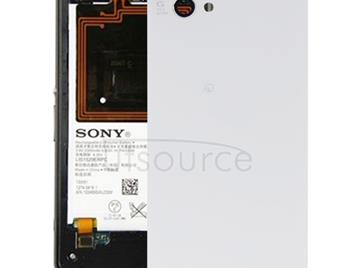 Battery Cover for Sony Xperia Z1 Mini(White)