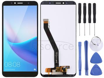 LCD Screen and Digitizer Full Assembly for Huawei Enjoy 8e  / Y6 (2018)(Black)