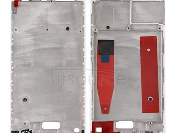 For Huawei P10 Front Housing LCD Frame Bezel Plate(White)