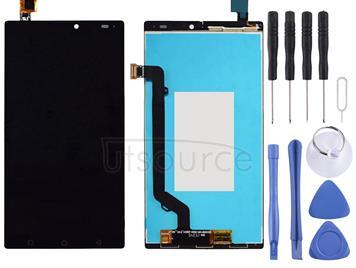 LCD Screen and Digitizer Full Assembly for Lenovo Vibe X3 Lite /  K51c78 (Black)