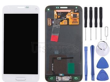 Original LCD + Touch Panel for Galaxy S5 mini / G800, G800F, G800A, G800HQ, G800H, G800M, G800R4, G800Y (White)