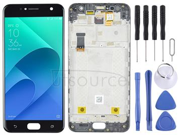 LCD Screen and Digitizer Full Assembly with Frame for Asus Zenfone 4 Selfie ZB553KL X00LD X00LDA (Black)