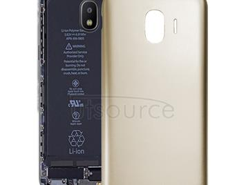 Back Cover for Galaxy J2 Pro (2018), J2 (2018), J250F/DS(Gold)