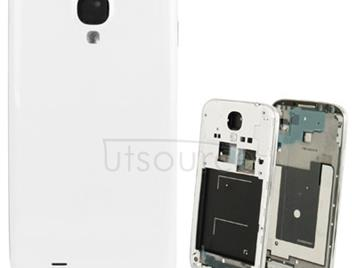 Original Full Housing Chassis with Back Cover for Galaxy S IV / i9500(White)
