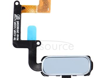 Home Button Flex Cable with Fingerprint Identification for Galaxy A3 (2017) / A320 & A5 (2017) / A520 & A7 (2017) / A720(Blue)