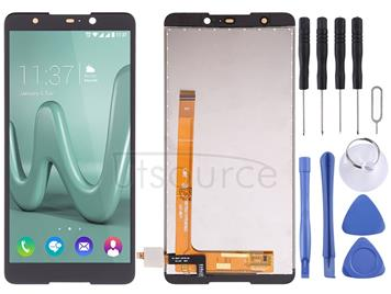 LCD Screen and Digitizer Full Assembly for Wiko Lenny 5(Black)