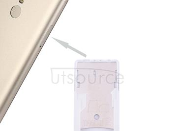 For Xiaomi Redmi Note 3 (Qualcomm Version) SIM & SIM / TF Card Tray(Gold)