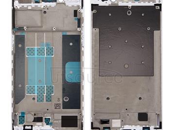 Front Housing LCD Frame Bezel Plate for OPPO R9s Plus(White)