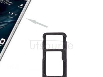 For Huawei P10 Lite SIM Card Tray & SIM / Micro SD Card Tray(Blue)