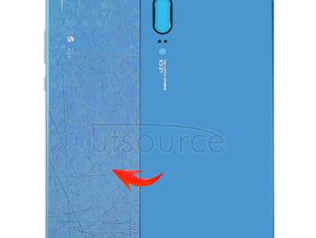 Back Cover for Huawei P20 (Blue)