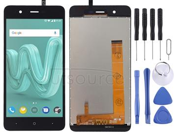 LCD Screen and Digitizer Full Assembly for Wiko Kenny (Black)