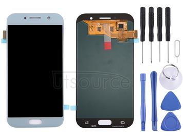 Original LCD Display + Touch Panel for Galaxy A5 (2017) / A520, A520F, A520F/DS, A520K, A520L, A520S(Blue)