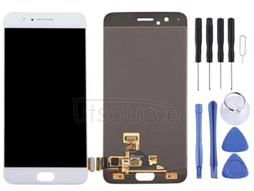 For OnePlus 5 LCD Screen and Digitizer Full Assembly(White)