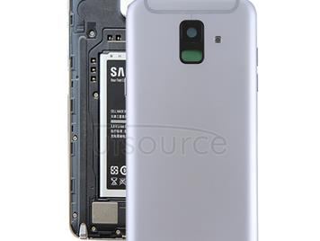 Back Cover with Side Keys & Camera Lens for Galaxy A6 (2018) / A600F(Grey)
