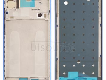 Middle Frame Bezel Plate for Xiaomi Redmi Note 7 / Redmi Note 7 Pro(Blue)