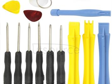 14 in 1 (Screwdrivers + Plastic Opening Tools) Professional Premium Precision Phone Disassembly Tool