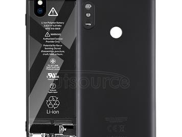 Back Cover for Xiaomi Redmi 6 Pro(Black)