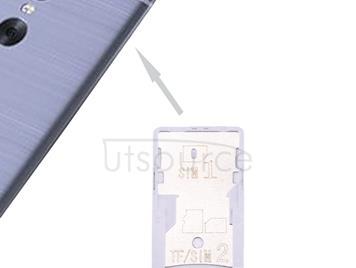 For Xiaomi Redmi Pro SIM & SIM / TF Card Tray(Grey)