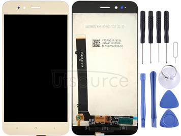For Xiaomi Mi 5X / A1 LCD Screen and Digitizer Full Assembly(Gold)